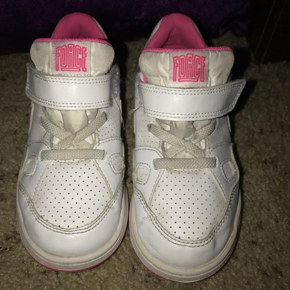 56c6ba53bf Nike Shoes | Girls Air Force 1 | Poshmark